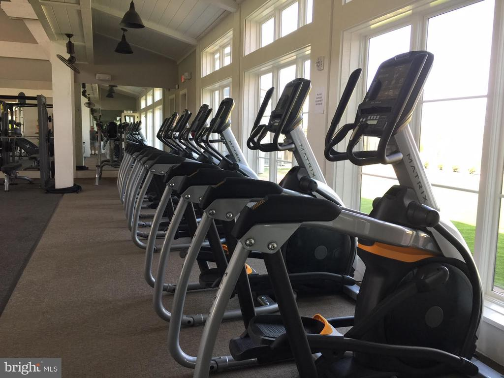 It is a great gym - 17101 GULLWING DR, DUMFRIES