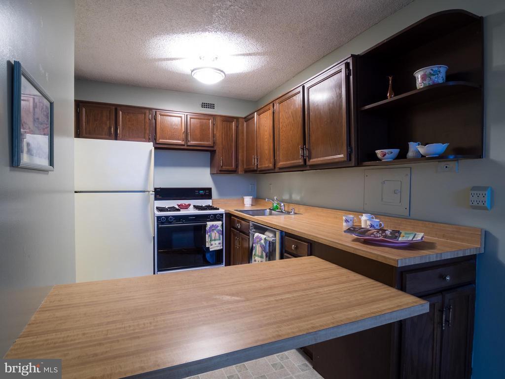 Kitchen - 5225 POOKS HILL RD #714S, BETHESDA