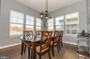 Large dining area. - 6849 E SHAVANO RD, NEW MARKET
