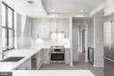 Large and luxurious kitchen - 8302 WOODMONT AVE #901, BETHESDA