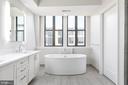 Master Bath - 8302 WOODMONT AVE #901, BETHESDA