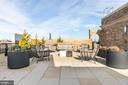 Alternate community rooftop terrace - 8302 WOODMONT #701, BETHESDA