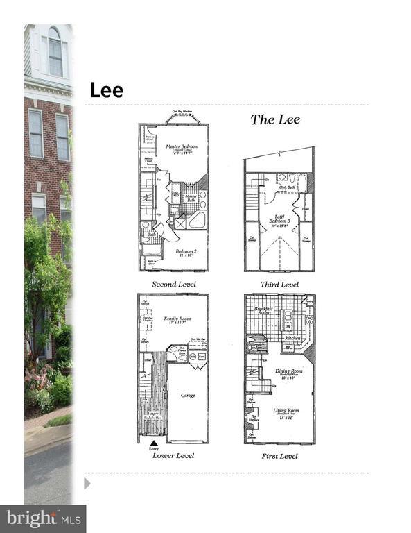 Floorplan - 2137 N PIERCE CT, ARLINGTON