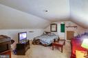 Bedroom Upper Level - 324 FOURTH ST, FREDERICKSBURG