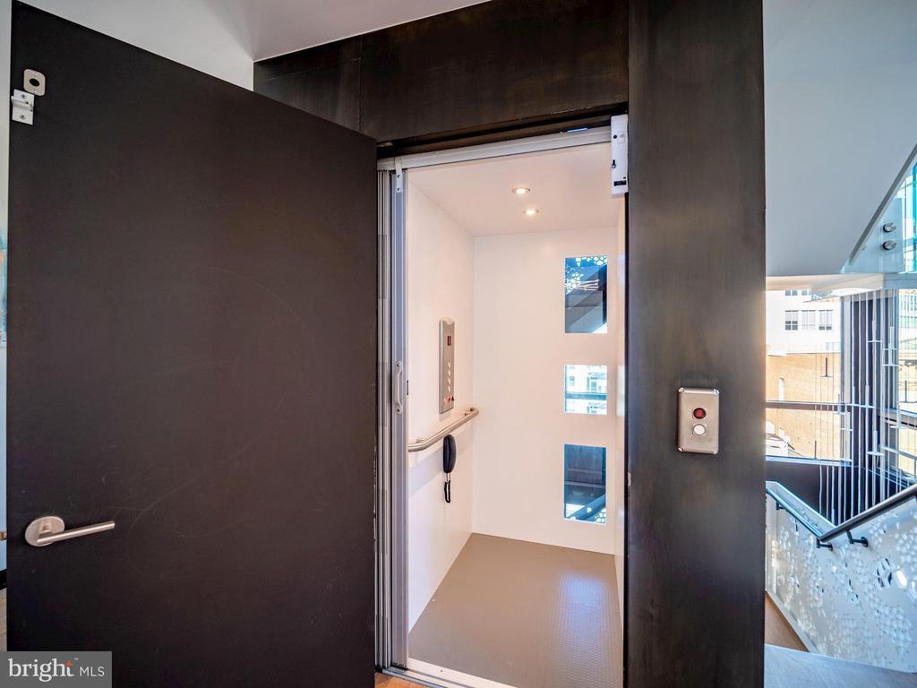 Internal elevator to all 4 floors - 912 F ST NW #905, WASHINGTON