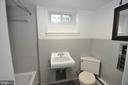 LOWER LEVEL FULL TILE BATH - 10311 DETRICK AVE, KENSINGTON