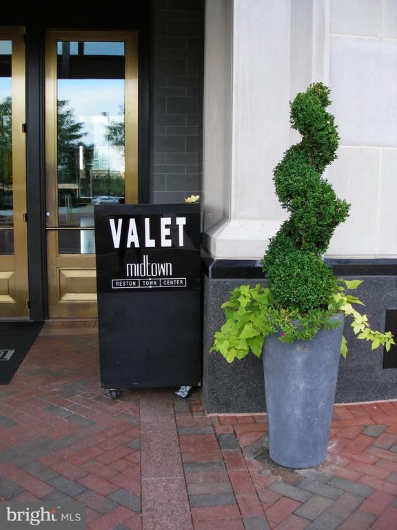Valet - Main Entrance to Building - 11990 MARKET ST #413, RESTON
