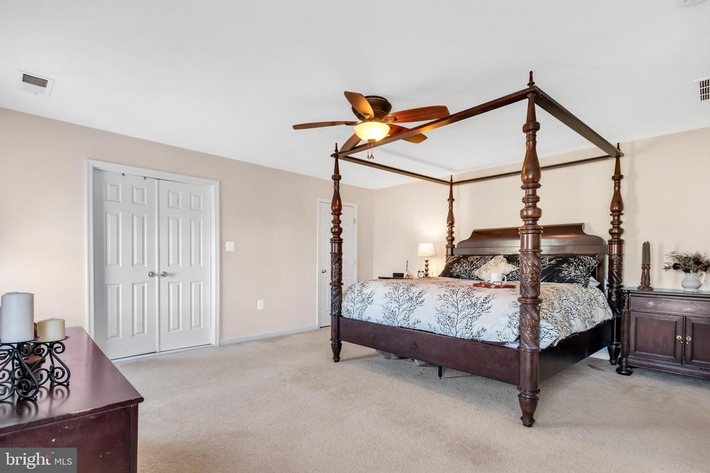 Spacious master suite - 329 SPRING BRANCH CT, PURCELLVILLE