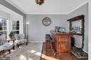 Cozy sitting room features bay window - 329 SPRING BRANCH CT, PURCELLVILLE