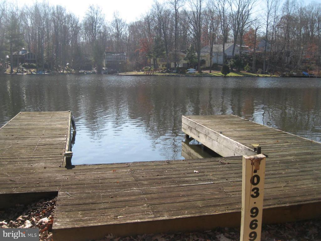 Premium waterfront with private dock - 134 HARRISON CIR, LOCUST GROVE