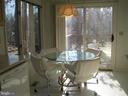 Water views from eat in kitchen - 134 HARRISON CIR, LOCUST GROVE