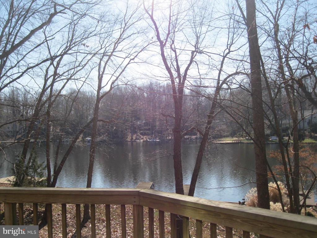 water views from deck/patio and home - 134 HARRISON CIR, LOCUST GROVE