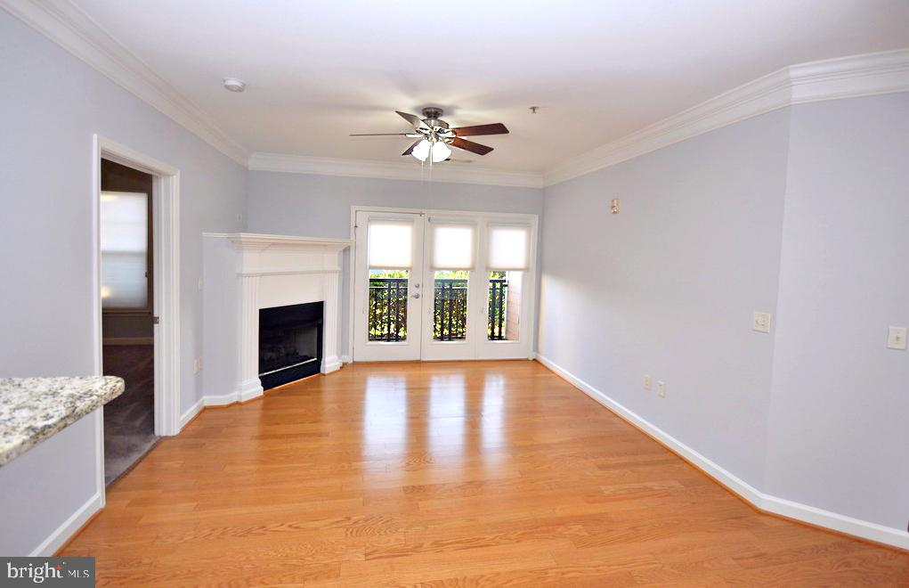 View from front entry of unit - 501 HUNGERFORD DR #P77, ROCKVILLE