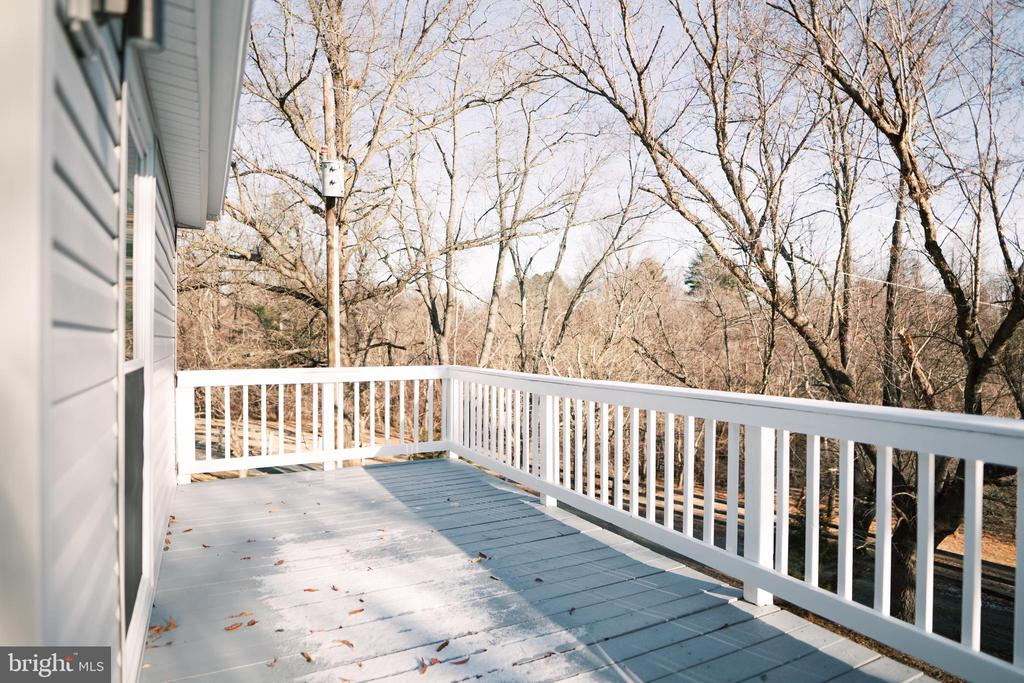 Front decking off of kitchen - 39006 LIME KILN RD, LEESBURG
