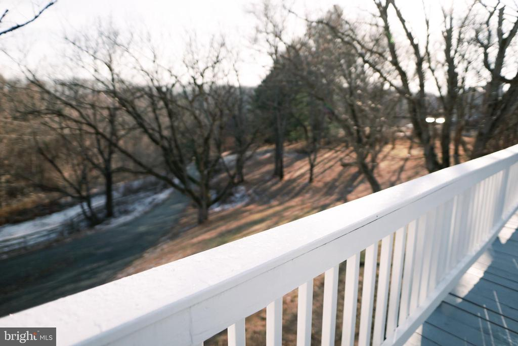 View from deck - 39006 LIME KILN RD, LEESBURG