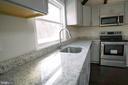 Gorgeous granite counters w/gooseneck faucet - 39006 LIME KILN RD, LEESBURG