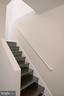 Stairs to lower level - 39006 LIME KILN RD, LEESBURG