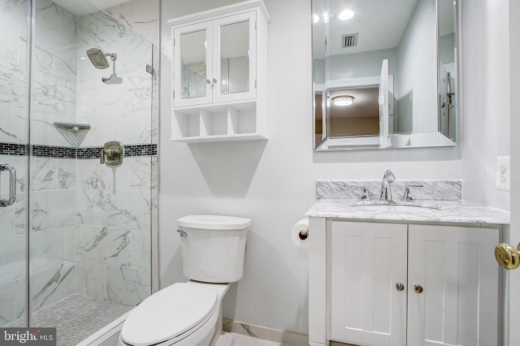 Bedroom #5 Renovated Bath - 12020 BLACKBERRY TER, NORTH POTOMAC