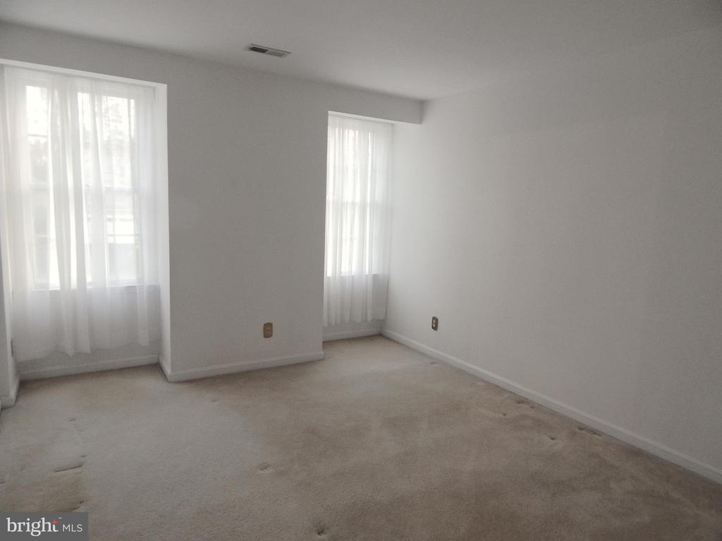 Bedroom 2 has a double closet - 6205 PROSPECT ST, FREDERICKSBURG