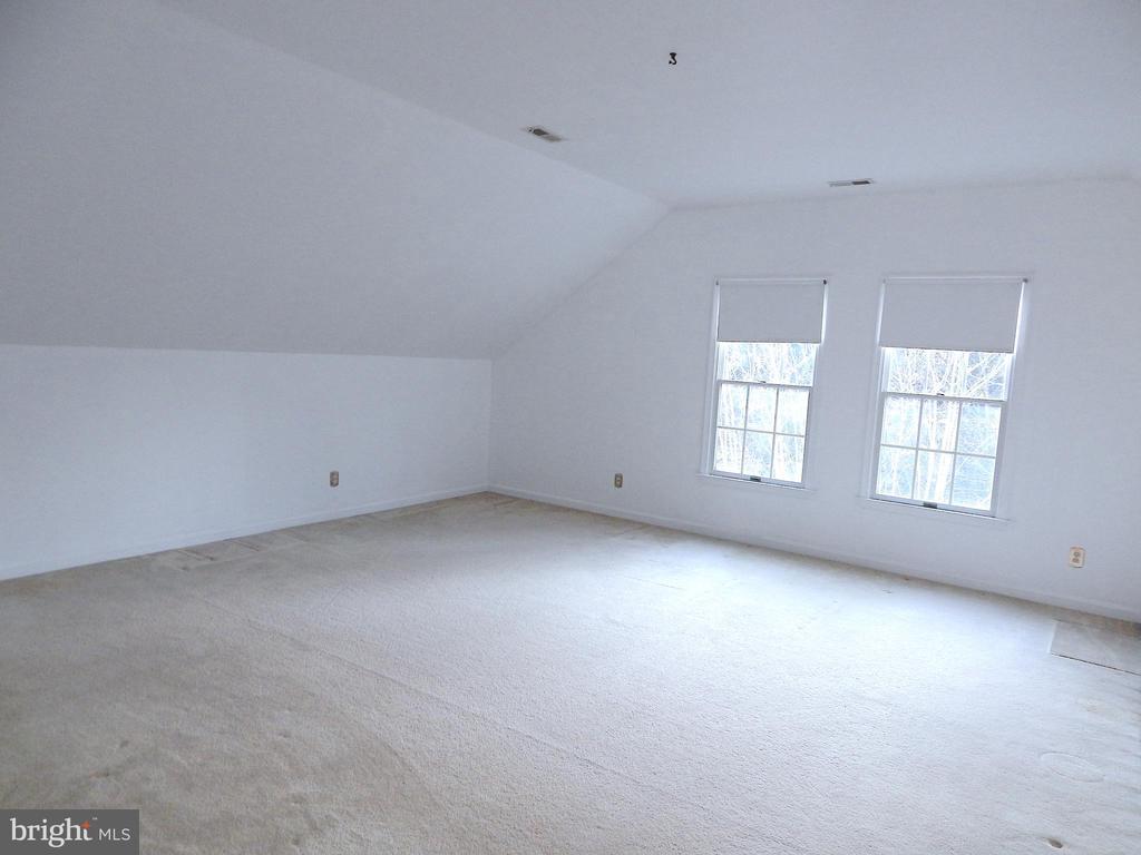 Loft that overlooks family room has walk-in closet - 6205 PROSPECT ST, FREDERICKSBURG