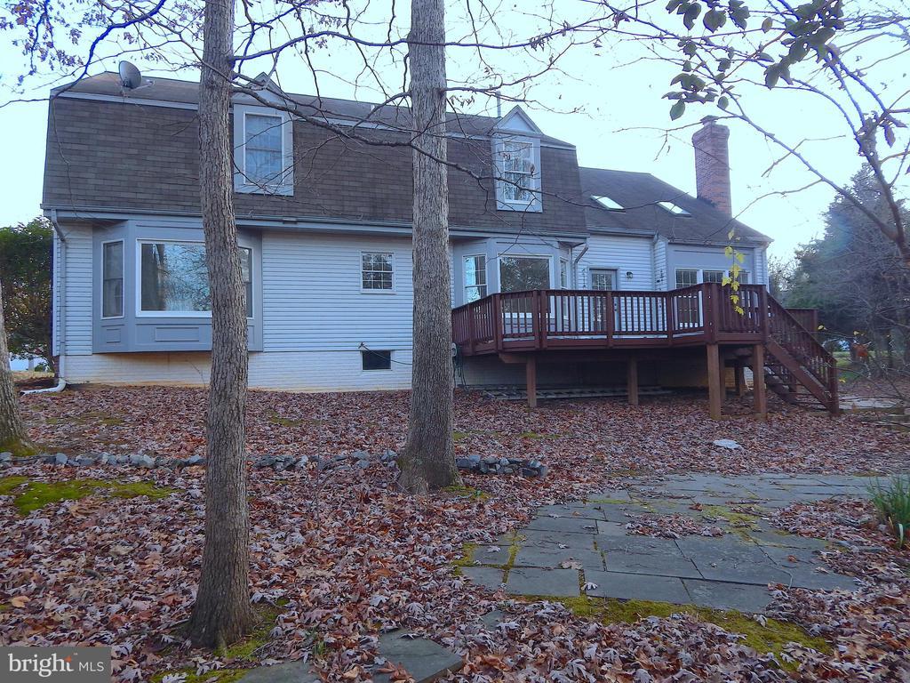 Rear deck, flagstone patios and walks - 6205 PROSPECT ST, FREDERICKSBURG