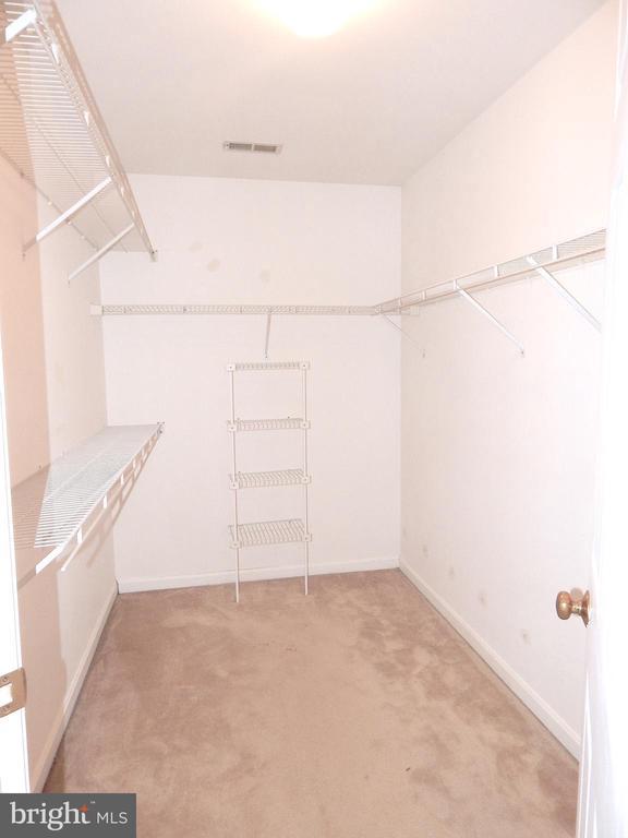 Master bedroom walk-in closet - 6205 PROSPECT ST, FREDERICKSBURG