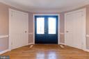 half bath and coat closet - 3608 SOUTH PL #5, ALEXANDRIA