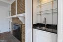 Complete with a bar and another fireplace. - 3608 SOUTH PL #5, ALEXANDRIA
