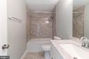 Downstairs bath - 3608 SOUTH PL #5, ALEXANDRIA