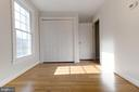 Another main level office or guest bedroom - 3608 SOUTH PL #5, ALEXANDRIA