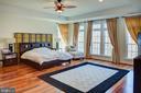 Master bedroom - 18918 CANOE LANDING CT, LEESBURG