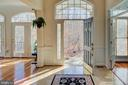 Step inside the front door - 18918 CANOE LANDING CT, LEESBURG