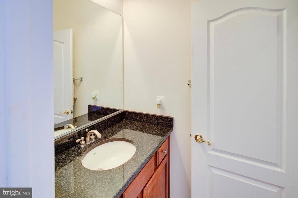 Powder room 2 on the main level - 18918 CANOE LANDING CT, LEESBURG