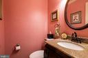Powder room on Main level - 11123 CLARA BARTON DR, FAIRFAX STATION