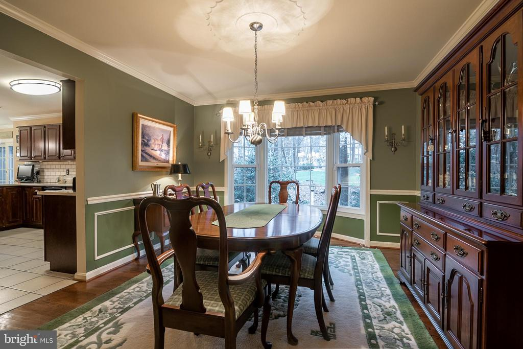 Dining Room - 11123 CLARA BARTON DR, FAIRFAX STATION