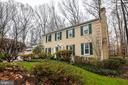 Beautiful landscaping - 11123 CLARA BARTON DR, FAIRFAX STATION