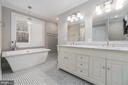 Dual vanity with soft close drawers. - 1 WINDSOR WAY, STAFFORD