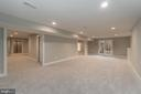 Lower Level Rec Room with Walk-Out - New Door - 1 WINDSOR WAY, STAFFORD