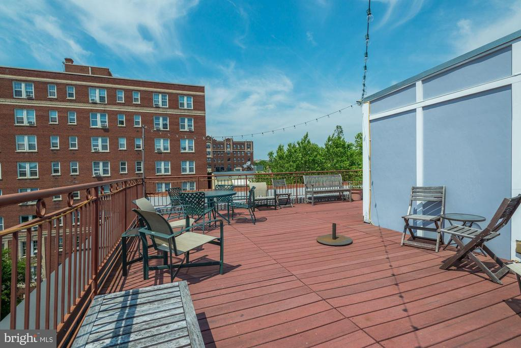 Roof Top Deck - 1632 S ST NW #1, WASHINGTON