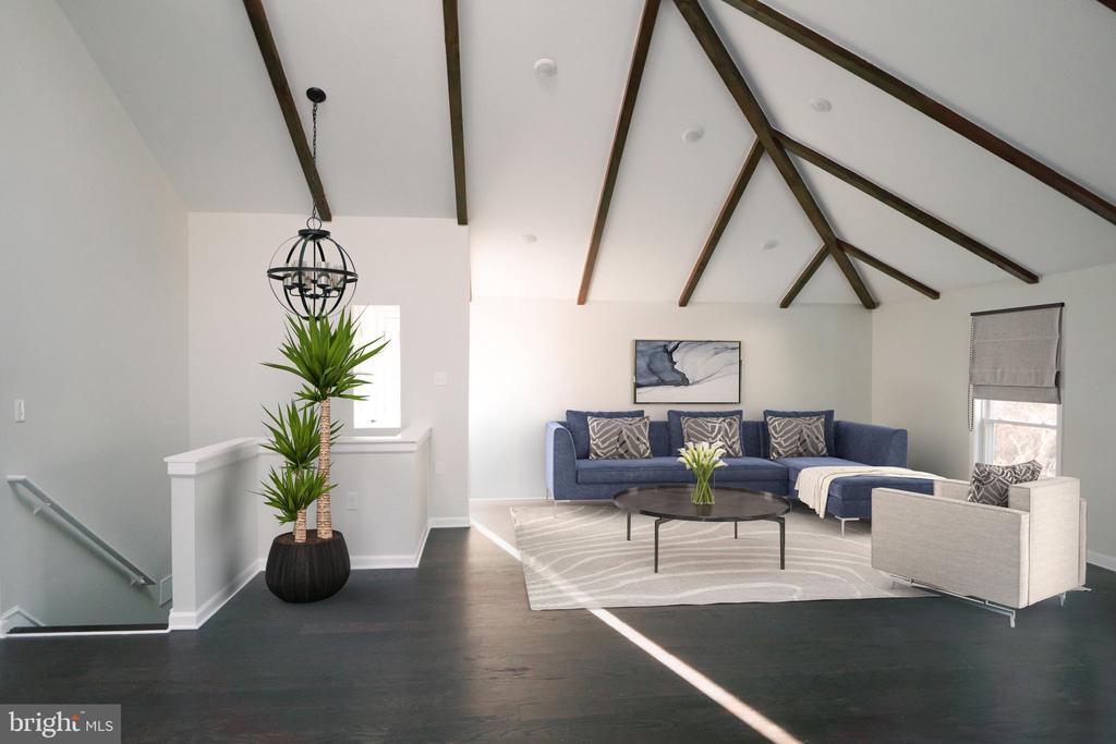 Virtual rendering of Living area - 39006 LIME KILN RD, LEESBURG