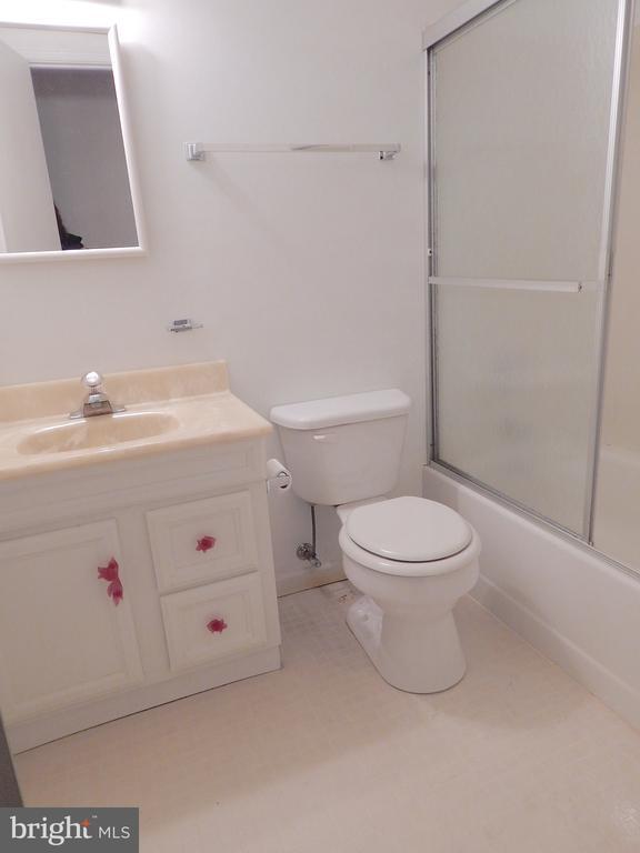 Basement full bath - 6205 PROSPECT ST, FREDERICKSBURG