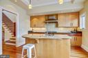 Working Kitchen Island & Breakfast Bar - 1324 FAIRMONT ST NW #B, WASHINGTON