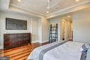 Master Bedroom #2  Walk-In Closet with Pocket Door - 1324 FAIRMONT ST NW #B, WASHINGTON