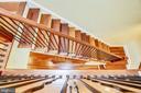 2 Level Staircase with Brazilian Cherry Hardwoods - 1324 FAIRMONT ST NW #B, WASHINGTON