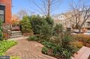 Mature Annual and Perennial Foliage - 1324 FAIRMONT ST NW #B, WASHINGTON