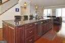 Extra Large Kitchen Island - 22426 PHILANTHROPIC DR, ASHBURN
