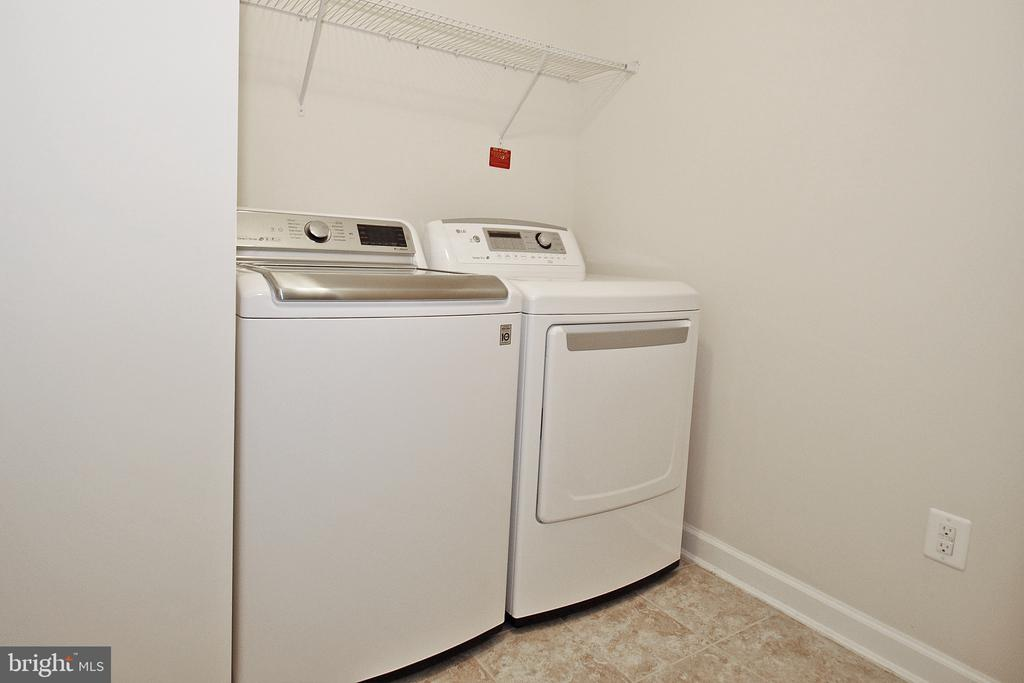Laundry on Bedroom Level - 22426 PHILANTHROPIC DR, ASHBURN