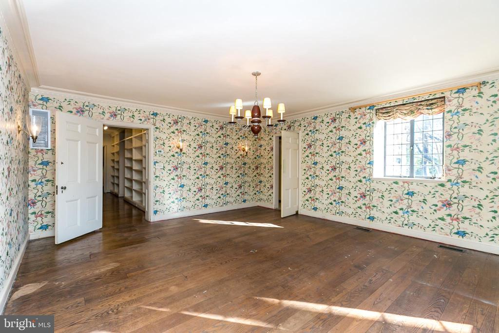 Dining Room with HW floors - 3707 GREENWAY, BALTIMORE