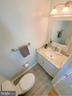 Updated Powder Room on Main Level - 43869 LABURNUM SQ, ASHBURN