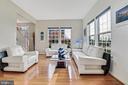 Formal living room - 9865 NOTTING HILL DR, FREDERICK